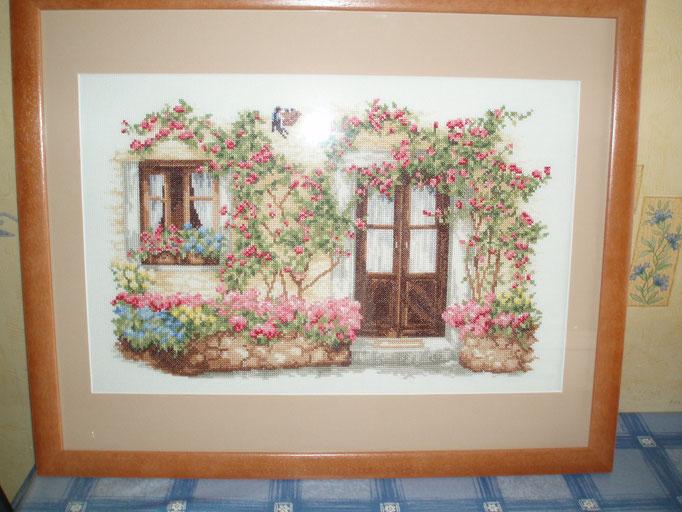 Cour fleurie - ©dr