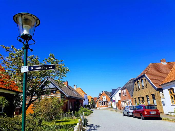 in Aris, der kleinsten Stadt von Deutschland