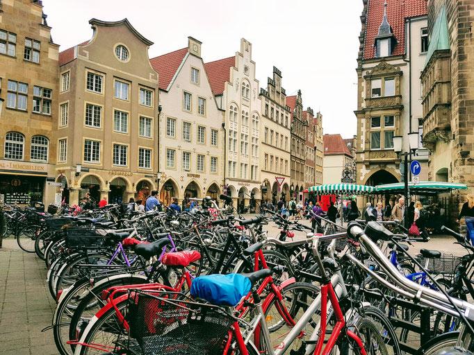 Holland? Nein Münster.... da wird Rad gefahren