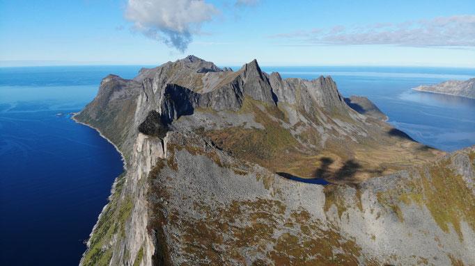 Segla, DER Berg auf Senja
