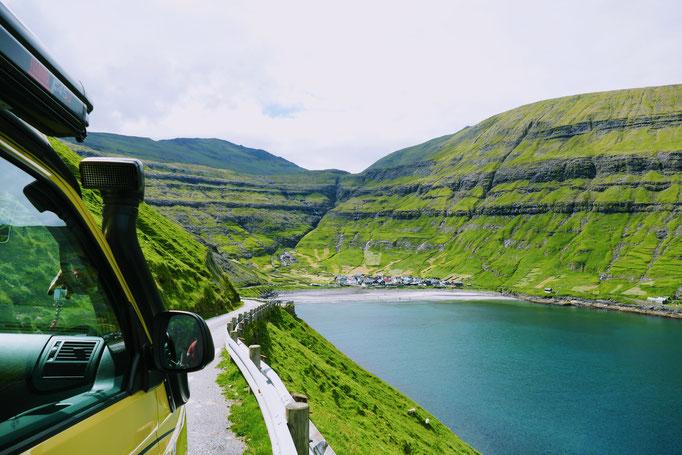 Wir fahren nach Tjörnuvik