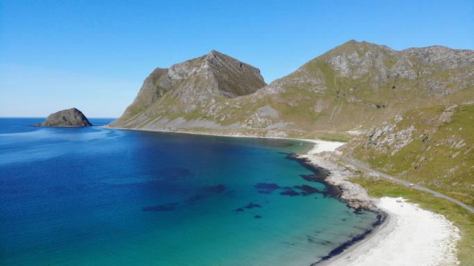 Karibikstrände auf den Lofoten