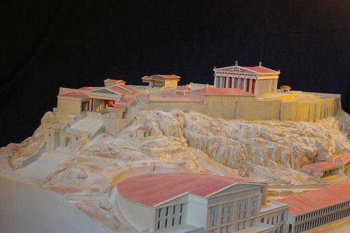 Acropole d'Athènes Construction. Hervé Arnoul.