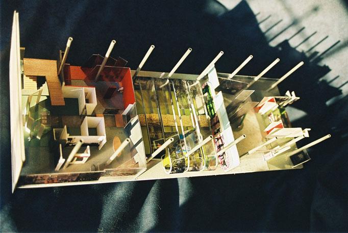 Conseil Général de la Haute-Marne, Mémorial Charles de Gaulle, maquette de présentation site et muséographie.Réalisation Hervé Arnoul