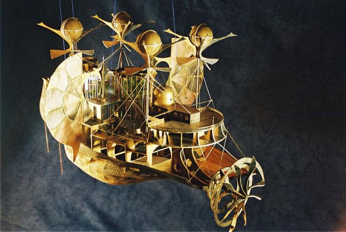 Création Hervé Arnoul, Musée J Verne.