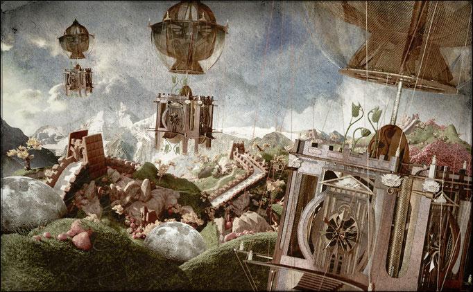 Dijon Vu Par: Saint Anne. Partage artistique Hervé Arnoul, Nicolas Salis