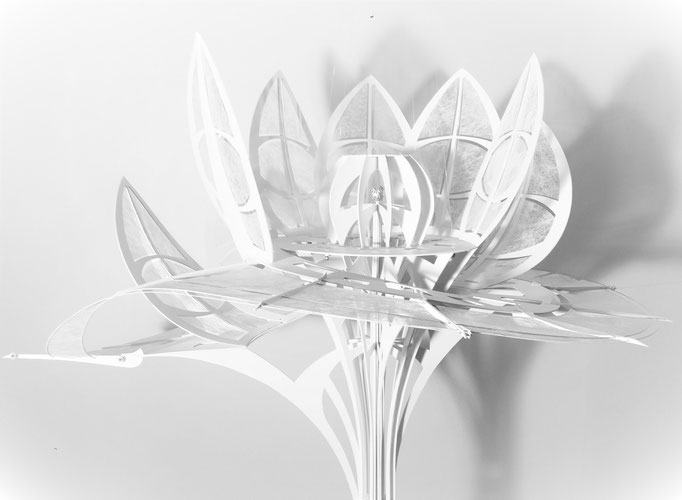 Fleurs Fantastiques 2.015 L.Raphaël Genève. Création Hervé Arnoul
