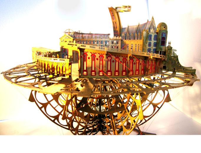 Dijon Vu Par 2012 Palais des Ducs. Création Hervé Arnoul