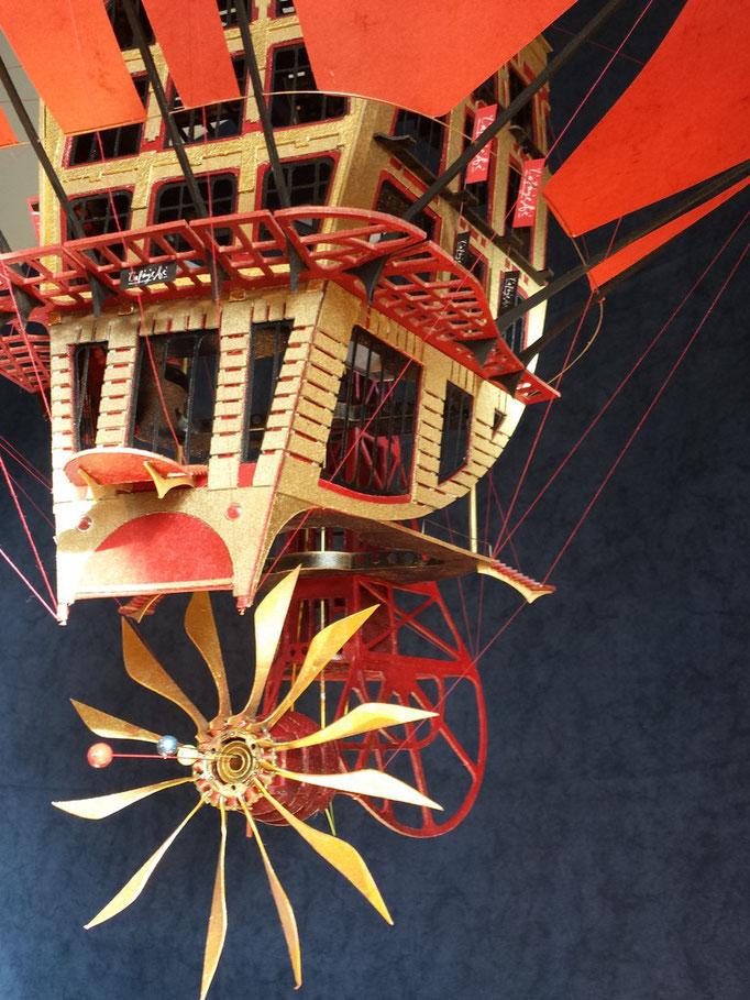 Galeries Lafayette Fantastique Dijon 2.013 Création Hervé Arnoul