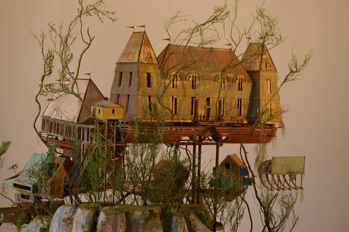 Château de Créancey Fantastique 2.013,1/100e. Création Hervé Arnoul
