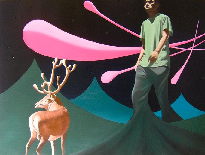 Es fügt sich_02, 2014, Oil on Canvas, 120 x 160 cm