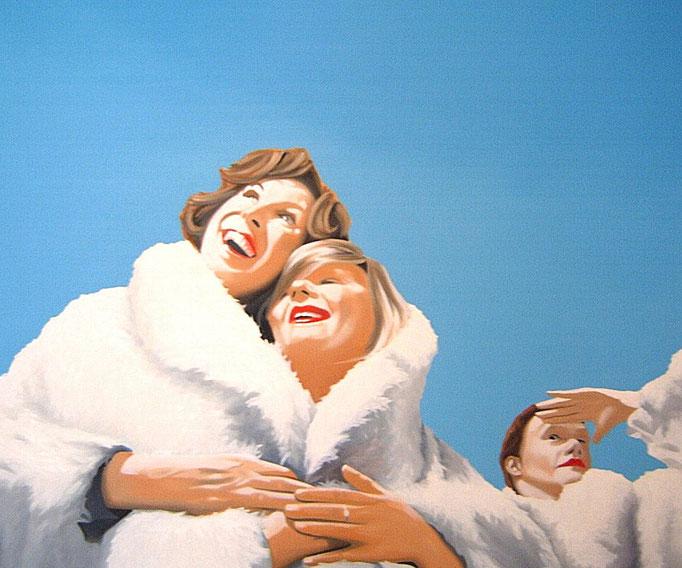 Höhenrausch, 2006, Oil on Canvas, 90 x 100 cm