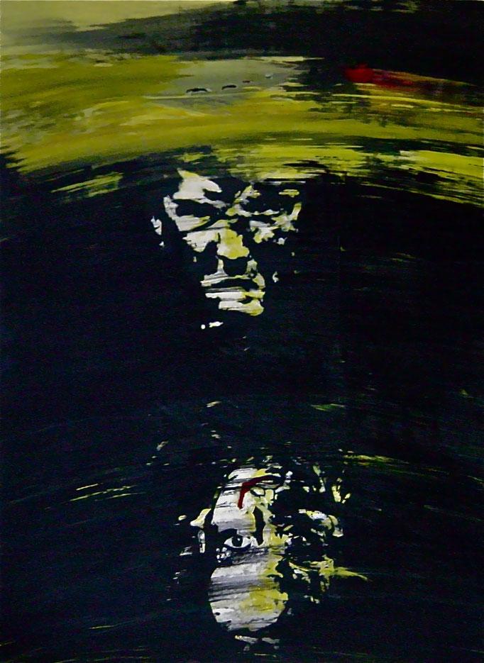 Krieg, 1993, Acrylic on Canvas, 155 x 110 cm