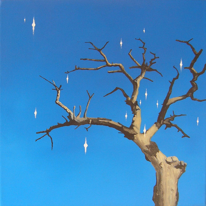 Posttraumata, 2020, Oil on Canvas, 30 x 30 cm