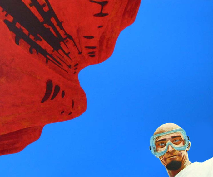 Ansichtssachen, 2002, Acrylic on Canvas, 100 x 120 cm