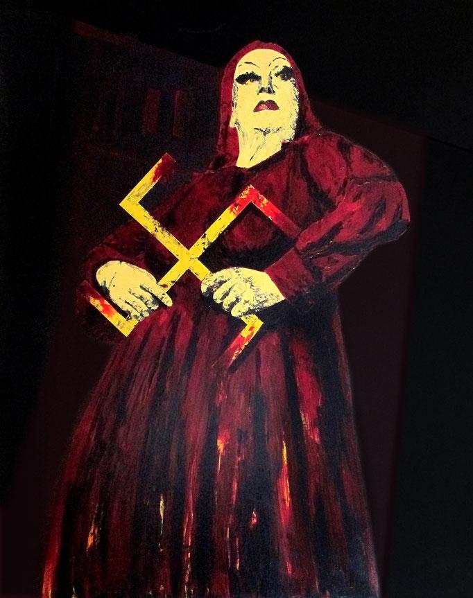 ohne Titel, 1994, Acrylic on Canvas, 150 x 120 cm