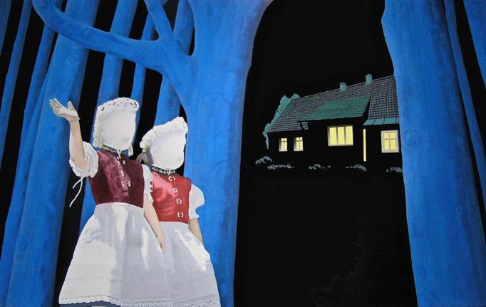 believe, 2011, Oil on Canvas, 100 x 160 cm