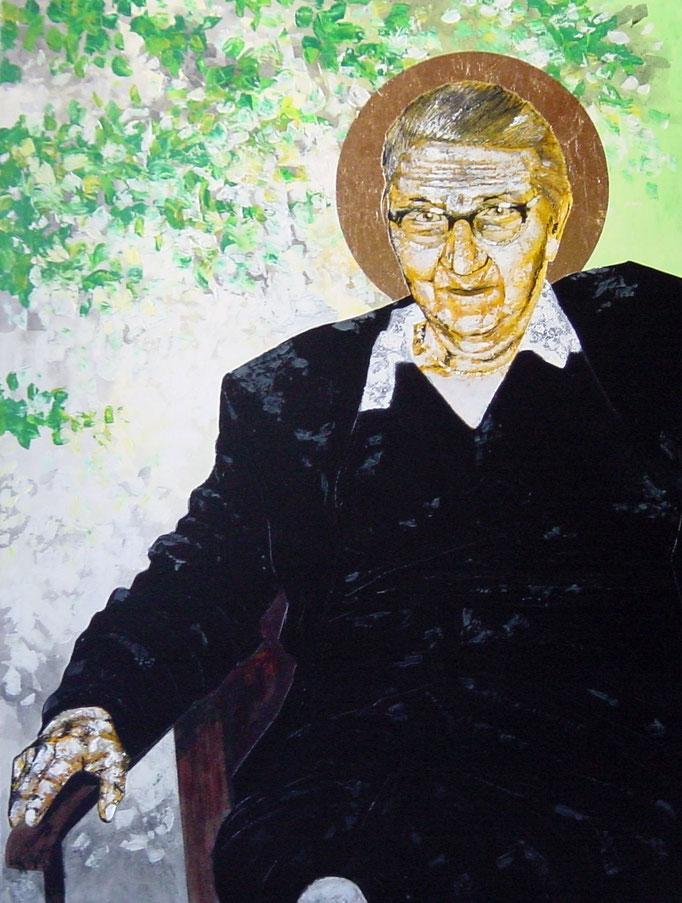 Antonie, 1996, Acrylic on Canvas, 140 x 105 cm