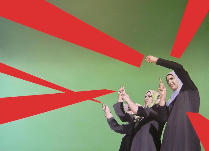 hope, 2012, Oil on Canvas, 145 x 200 cm