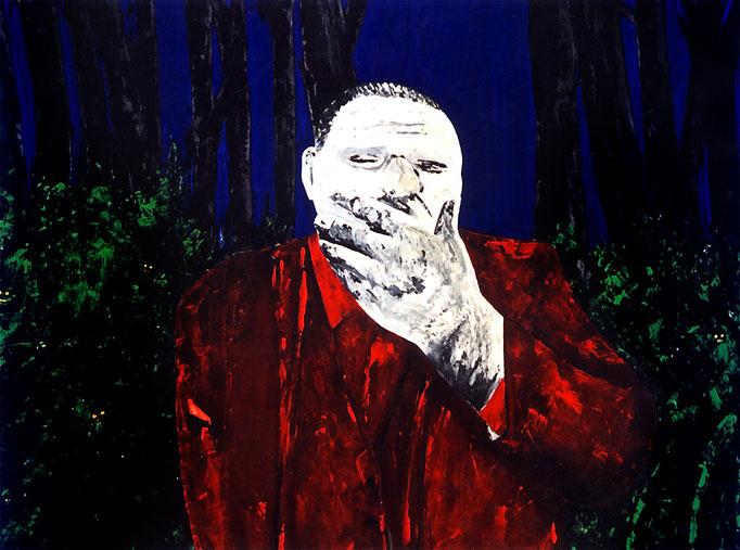 Waldspass, 1993, Acrylic on Canvas, 120 x 150 cm
