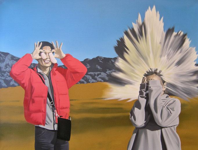das Spiel ist aus, 2010, Oil on Canvas, 90 x 120 cm