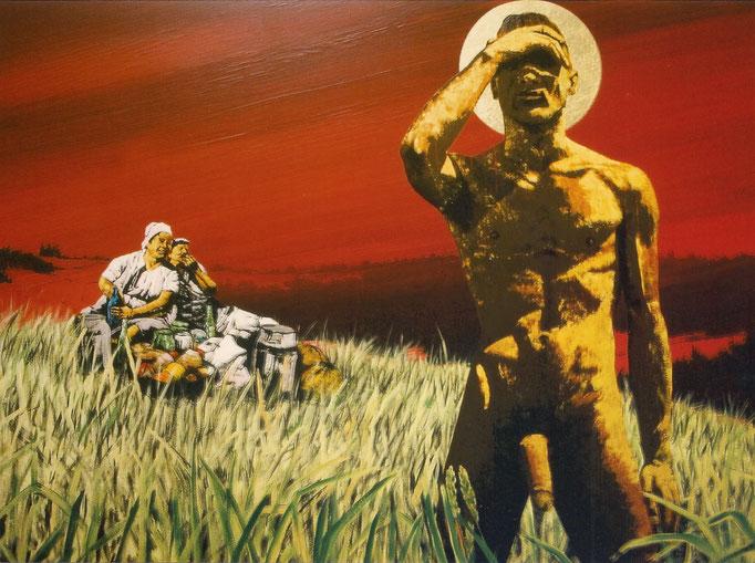Die Erscheinung, 1996, Acrylic on Canvas, 140 x 190 cm
