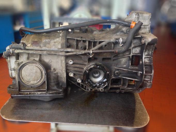 Audi-Getriebe vor der Instandsetzung