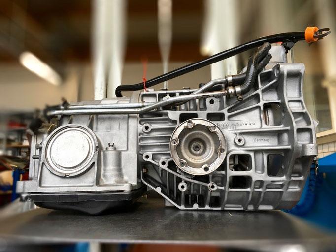 Audi-Getriebe nach der Instandsetzung
