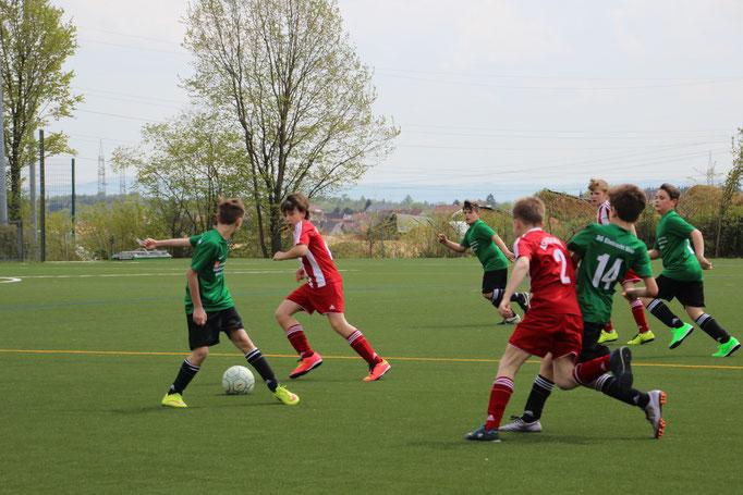 Jugend-Fussballspiel der SG Eintracht Sirnau