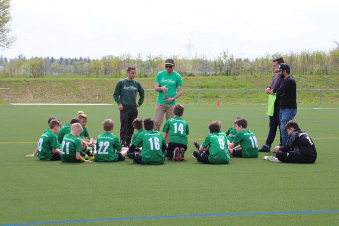 Jugendfussball bei der SG Eintracht Sirnau