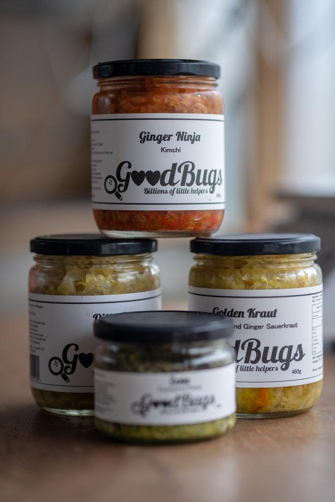 Good Bugs Produits Lacto-Fermentés - Lactofermented produce