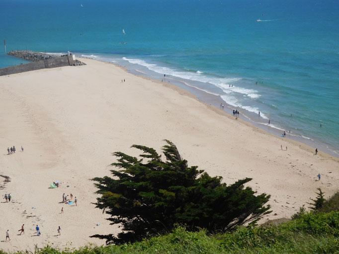 la plage de la Potinière