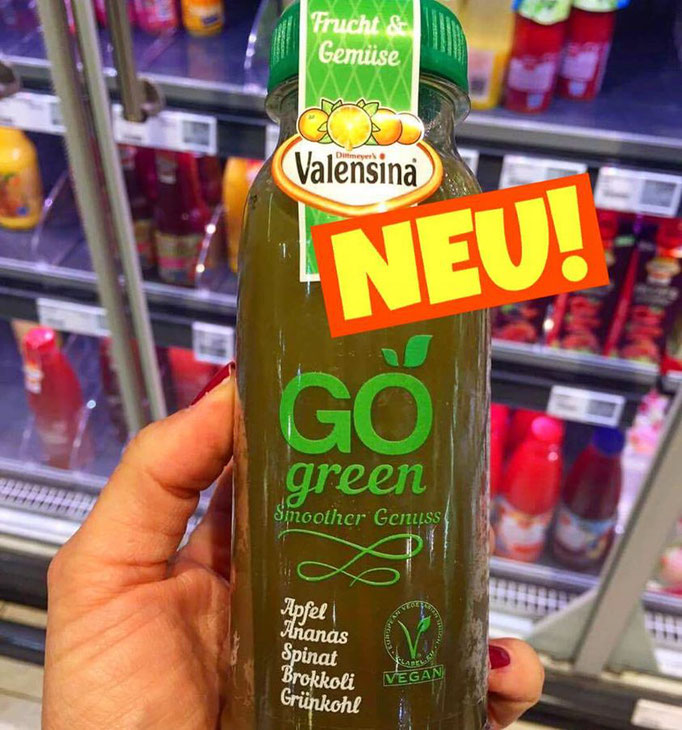 Valensina GO Smoothie Green