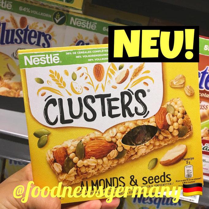 Nestle Clusters Müsliriegel