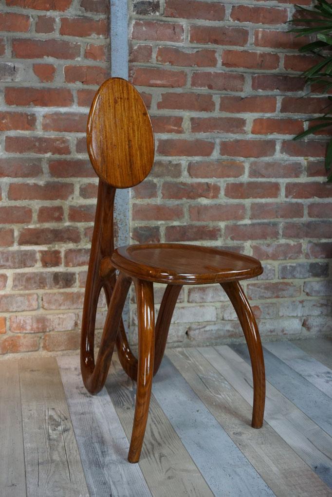 Chaise organique design de Luca & Paolo Giacomuzzi