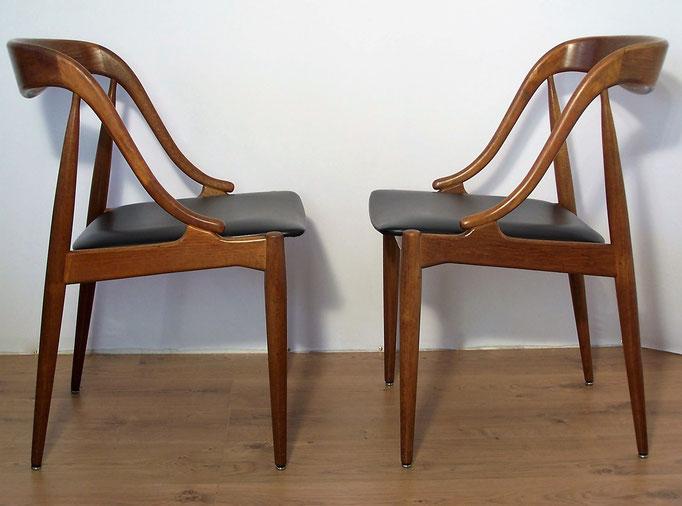 Paire de chaises Johannes Andersen pour Uldum Mobelfabrik
