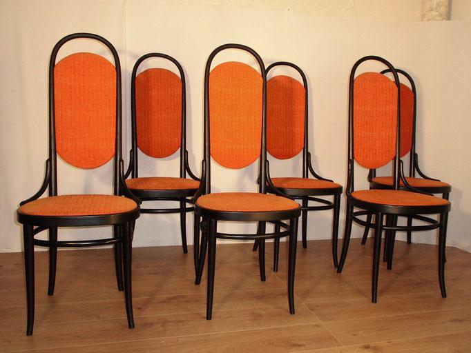 Suite de 6 chaises vintage maison Thonet
