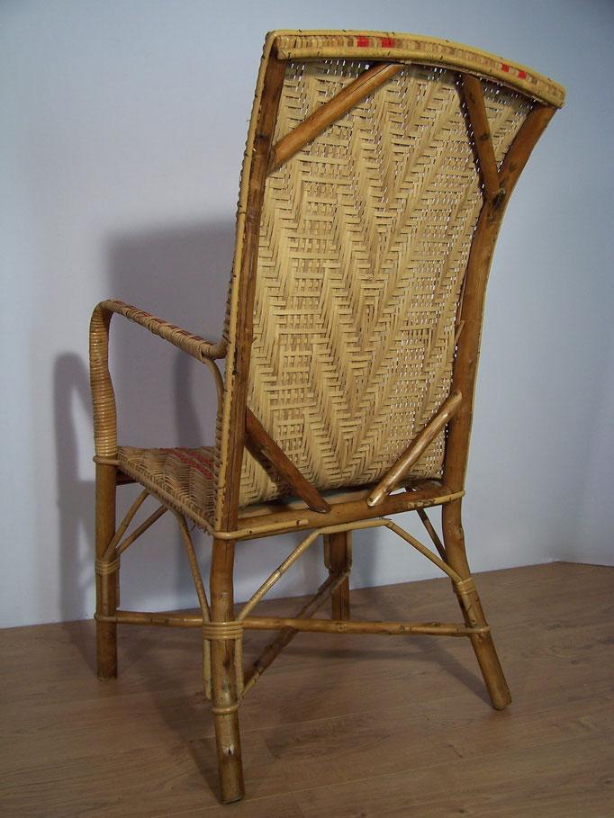 Grand fauteuil rotin