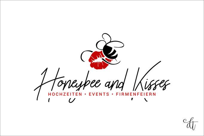 Honeybee and Kisses - Denise Weibart - 2018: Logodesign