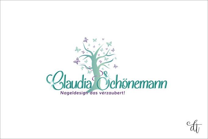 Nageldesignerin - Claudia Schönemann - 2016: Logodesign