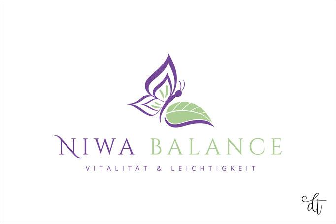 NiWa Balance - Nicole Walter - 2018: Logodesign