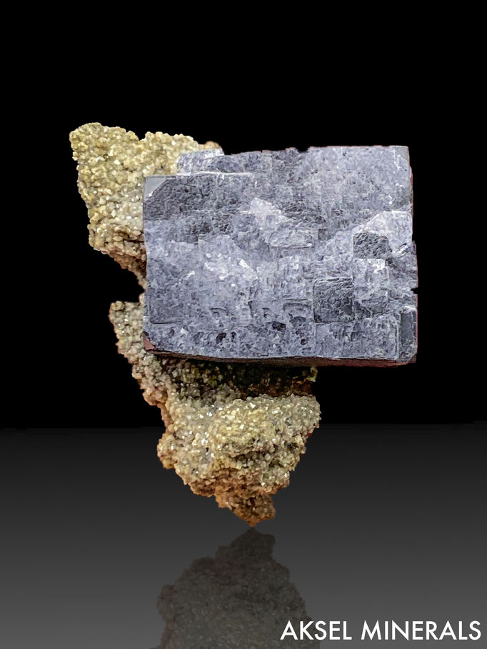 AM660 - Galène et Pyrite sur Calcite - Brushy Creek Mine, Viburnum Trend, Reynolds County, Missouri - 75x45mm