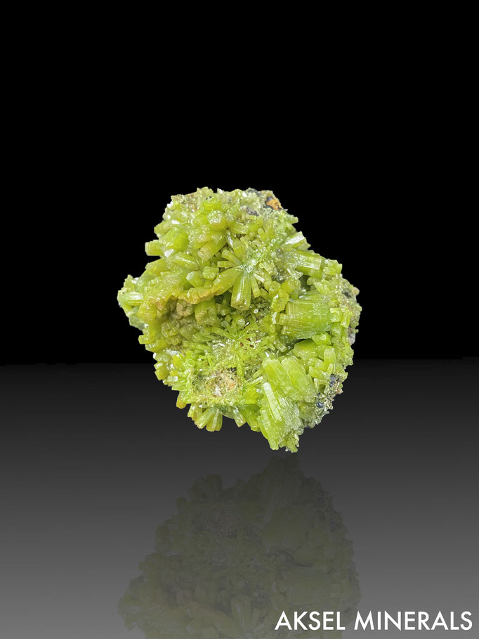 AM661 - Pyromorphite - Daoping Mine, Gongcheng Co., Guilin, Guangxi Province, China - 45x39mm