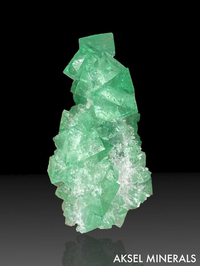 AM659 - Fluorite et Quartz - Riemvasmaak fluorite occurences, Riemvasmaak, Kakamas, Kai !Garib, ZF Mgcawu, Northern Cape, South Africa - 65x45