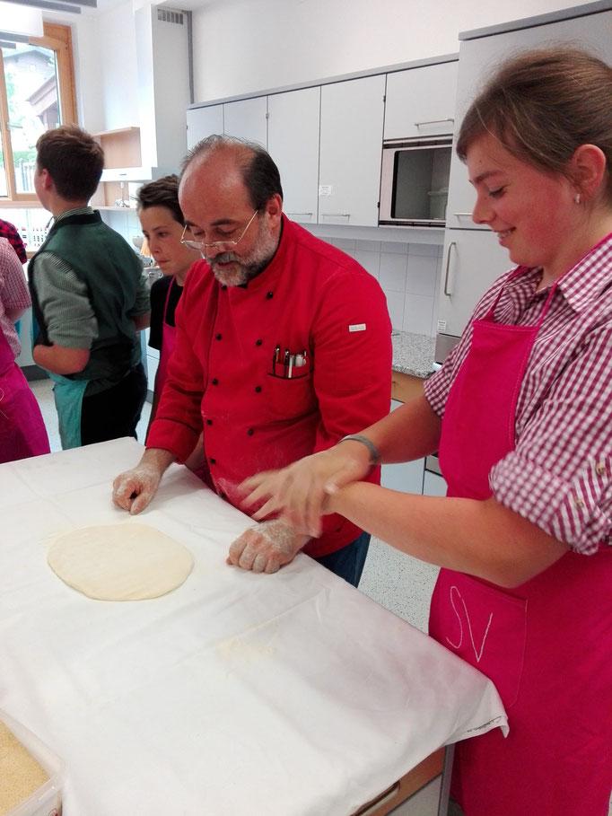Küchenchef Anton Enzinger STRUDELTEIG