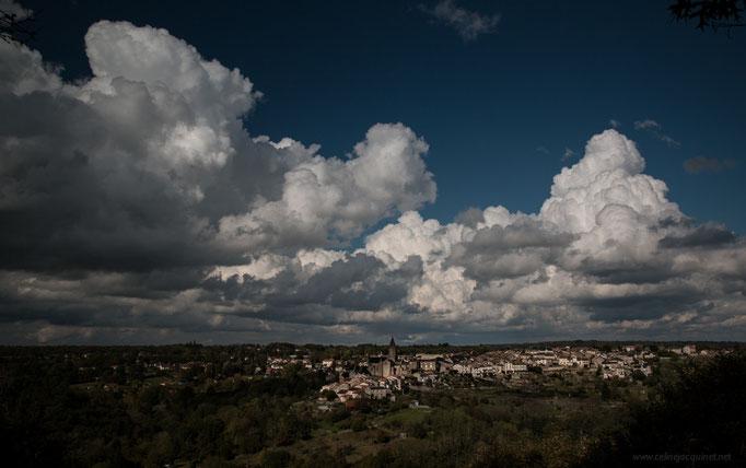 Chateauponsac - vue depuis le panorama