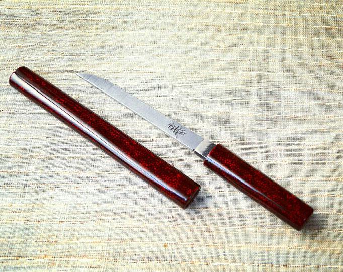 七々子塗りの小柄 / Short Sword