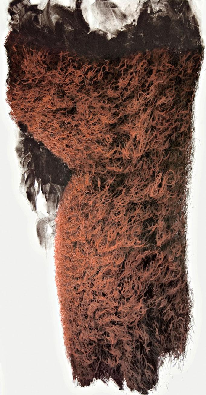 Lichtform, 2011, Acryl auf Leinwand, 190x100cm