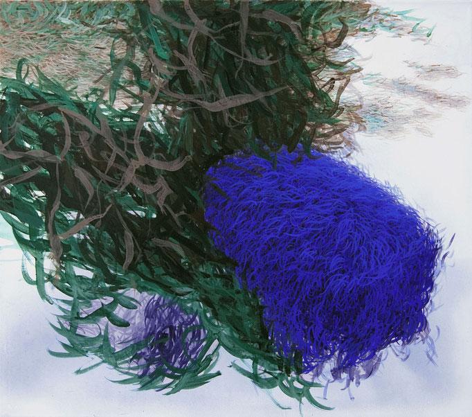 Arkadien, 2012, Acryl auf Leinwand, 90x80