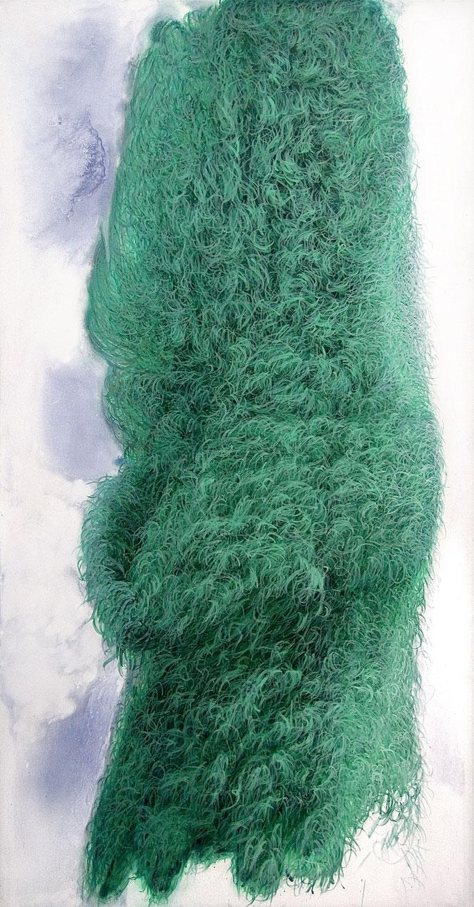 Lichtform, 2012, Acryl auf Leinwand, 190x100cm